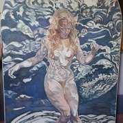 Monique In Water 2