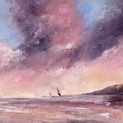 Sails Under A Pink Sky