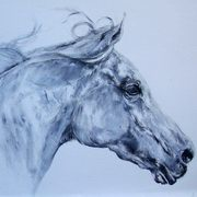Irish Art, The Arabian Horse II,