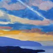 Study of Clouds at Flaggy Shore