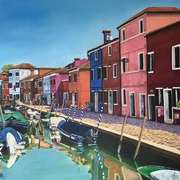 Beautiful Burano,Venetian Lagoon