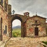 Before The Rain (Volterre,Tuscany)