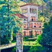 Forgotten Villa Fiori (Bagni di Lucca,Tuscany)