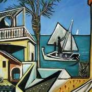 Mediterranean Landscape 2 (after Picasso)