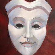 Theatre Mask - Comedy