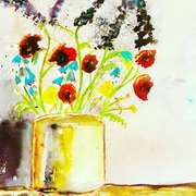 Paint Pot Floral