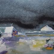 Starry Night,Gobbins,Islandmagee