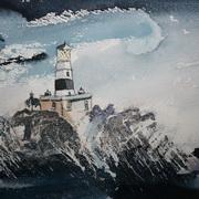Storm At The Maidens,Irish Sea