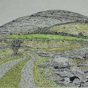 Burren National Park 1, oil pastels
