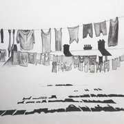 Dublin,Clothes Line