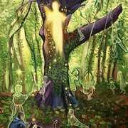 Merlin's Healing Beech Tree