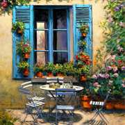 House With The Blue Shutters