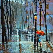 Lovers,Montmartre,Paris
