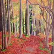 Autumn Day in Devil's Glen