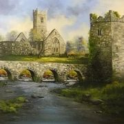 Claregalway Castle and Abbey, Galway