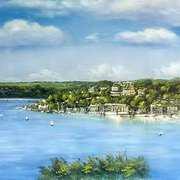 Kinsale Harbour Painting Cork,Ireland