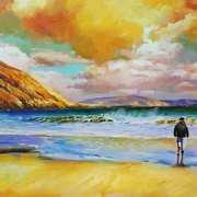 Colin on Keem Beach