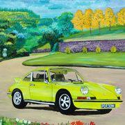 Porsche Vintage Car