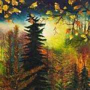 Swaying Pine