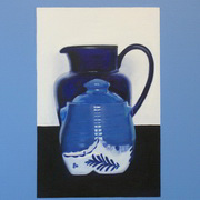 Blue to You,oil on canvas