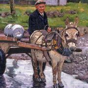 Irish Art, Heading Home,