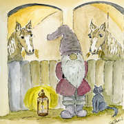 Christmas in the stable