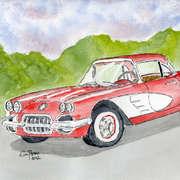 Corvette 1950's