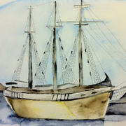 Harboured Ship