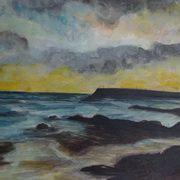 Spiddal Pier Sunset