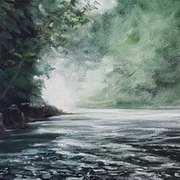 Misty River,Co. Wicklow