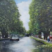 'Stroll By The Grand Canal at Mespil Road'