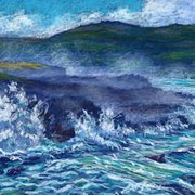 Atlantic Turbulence, Clogher, Dingle Peninsula