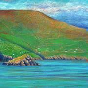 Dunmore Head from Great Blasket Island