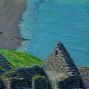 Great Blasket Island,Ruins and Beach