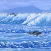 Stormy Waves,Clogher
