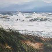 Morris castle Storm Sea