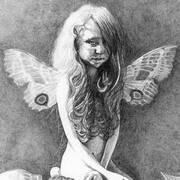 kneeling pose fairy
