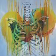 Decay II,Acrylic