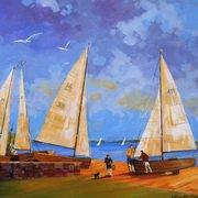 Yachts at Clontarf