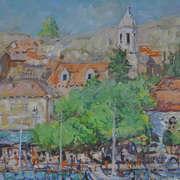 Cavtat Harbor Croatia