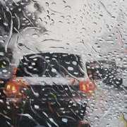 Traffic,Rain