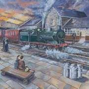 Pettigo Railway Station, Donegal