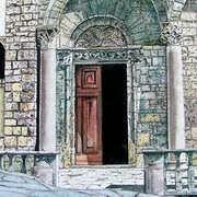 Church Doorway Arezzo