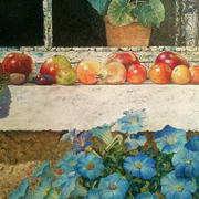 Still-life Fruit on Windowsill