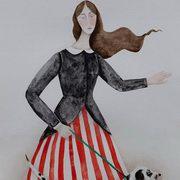 Madame Stripe Walks Spot