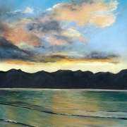 Sunset over Cass Bay