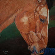 Irish Art, Connemara Pony in Oughterard,
