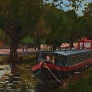 Dublin Canal Boat Study