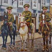 3 of Ulster's Sons,Riding into Town,(Lisburn)