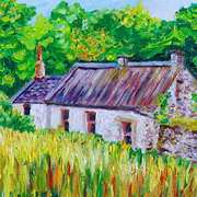 Abandoned Cottage,Ballytober Lane,Islandmagee,County Antrim